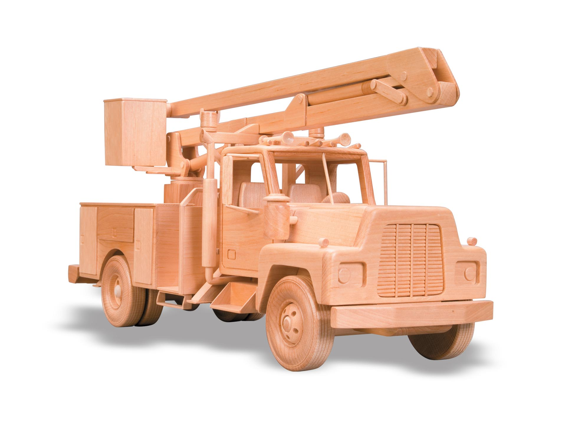 Wooden Trucks Toys And Joys : Patterns kits trucks the bucket truck