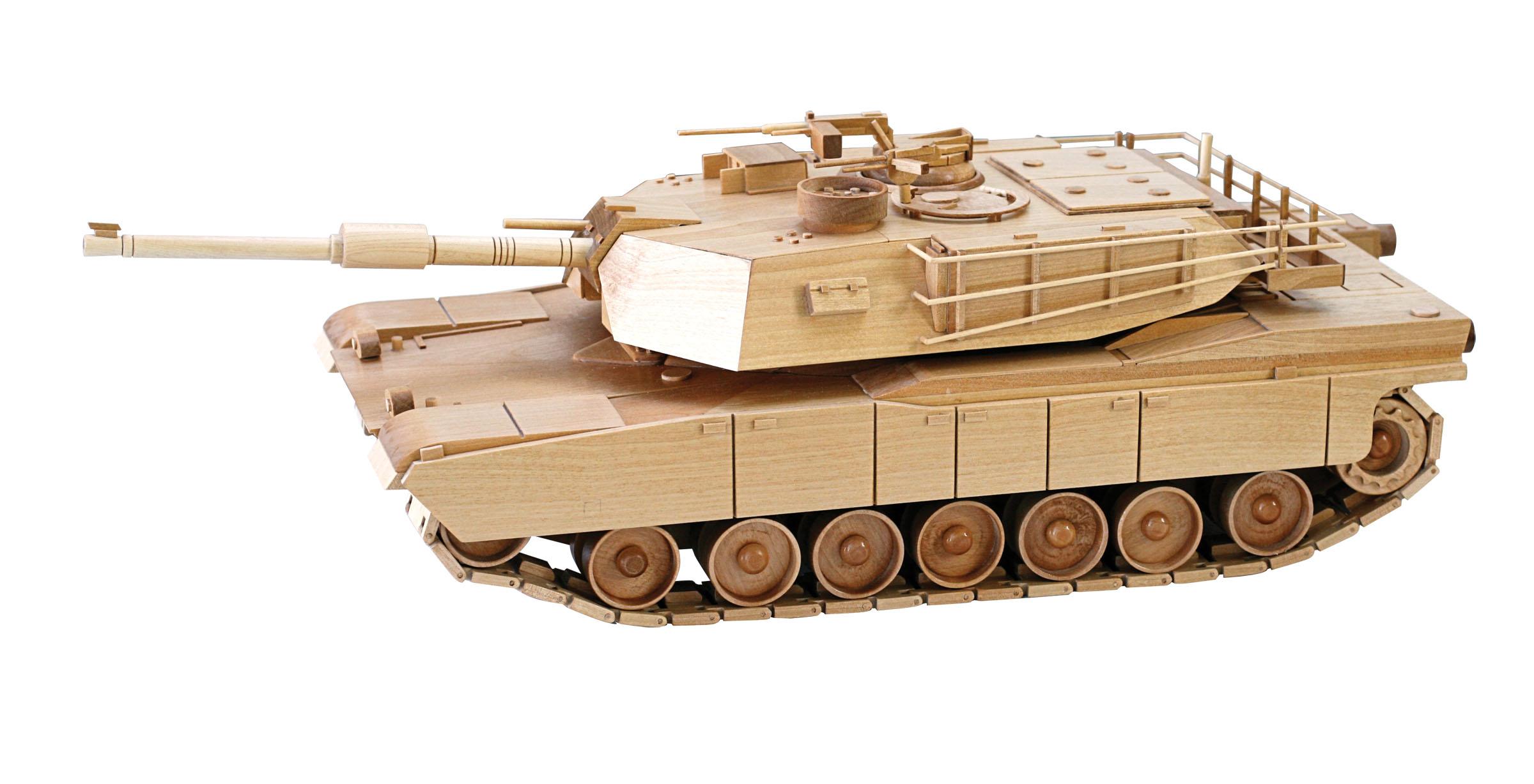 Wooden Toys Toys For Joys : Patterns kits miscellaneous the abrams tank
