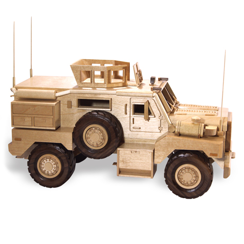 Wooden Trucks Toys And Joys : Patterns kits trucks mrap cougar