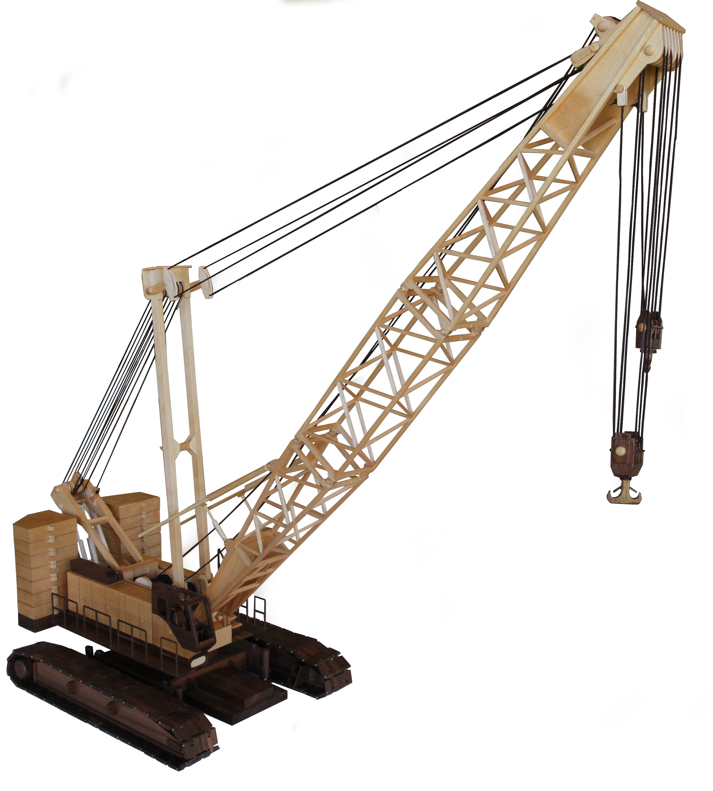 Pulleys In Cranes : Patterns kits construction the heavy lifter
