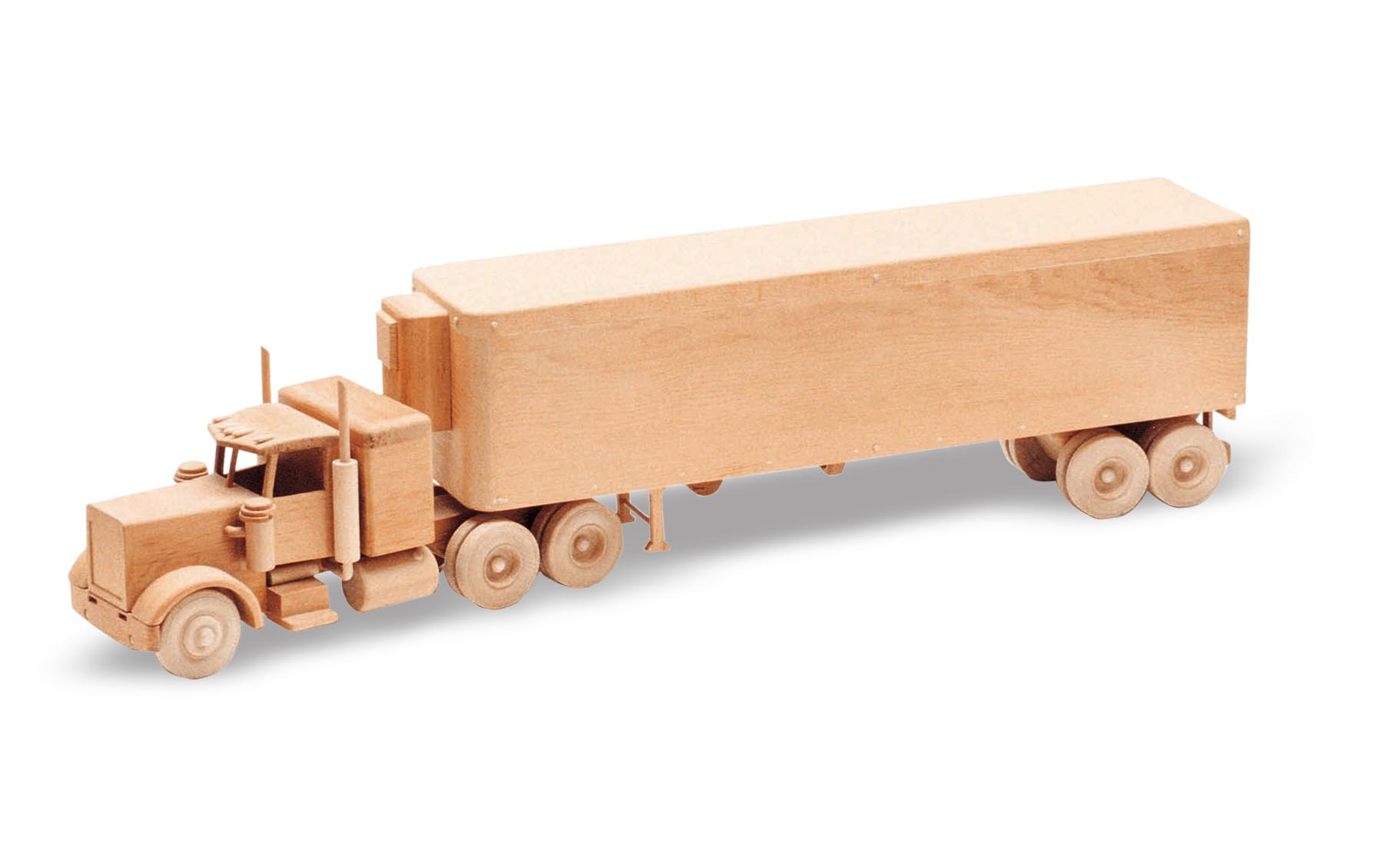 Wooden Trucks Toys And Joys : Patterns kits trucks the big rig
