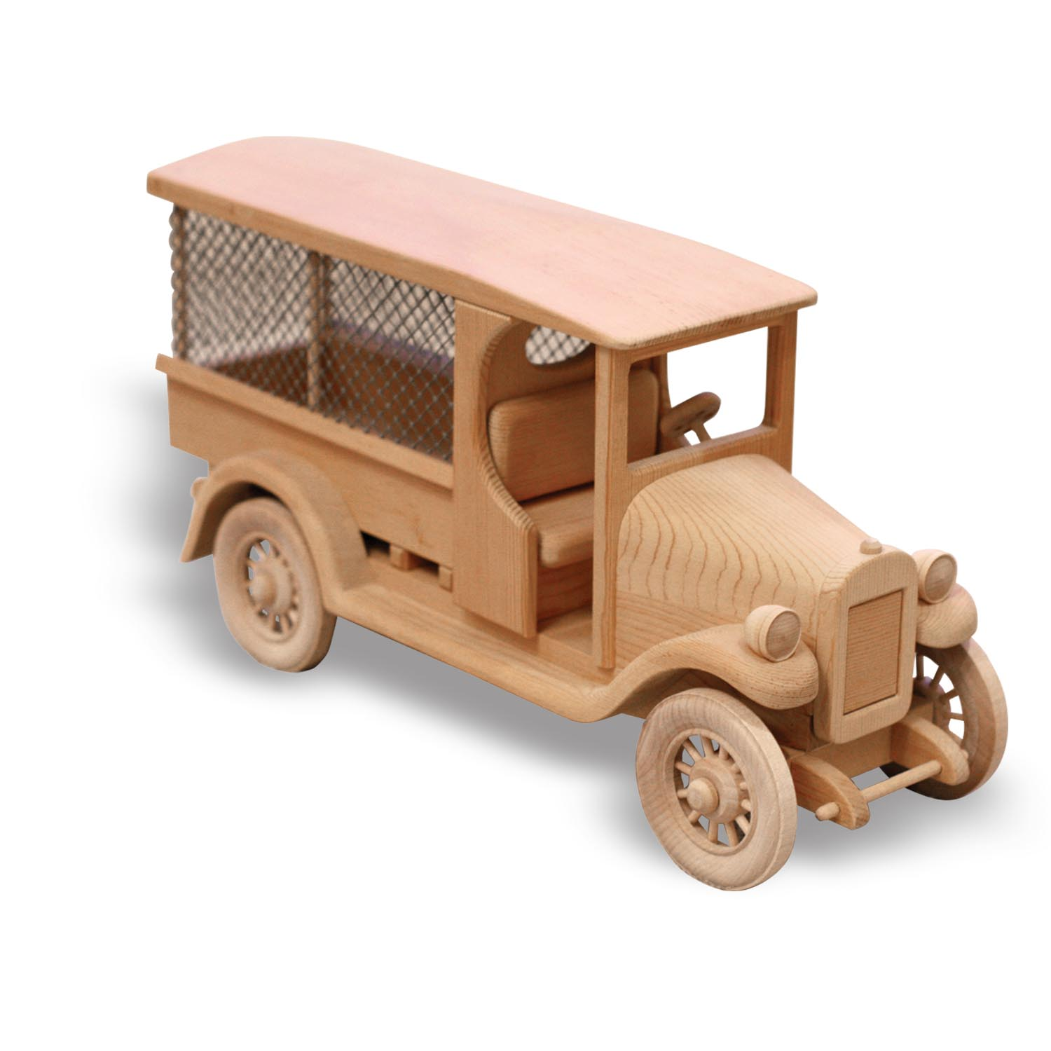 Wooden Trucks Toys And Joys : Patterns kits trucks railroad baggage car