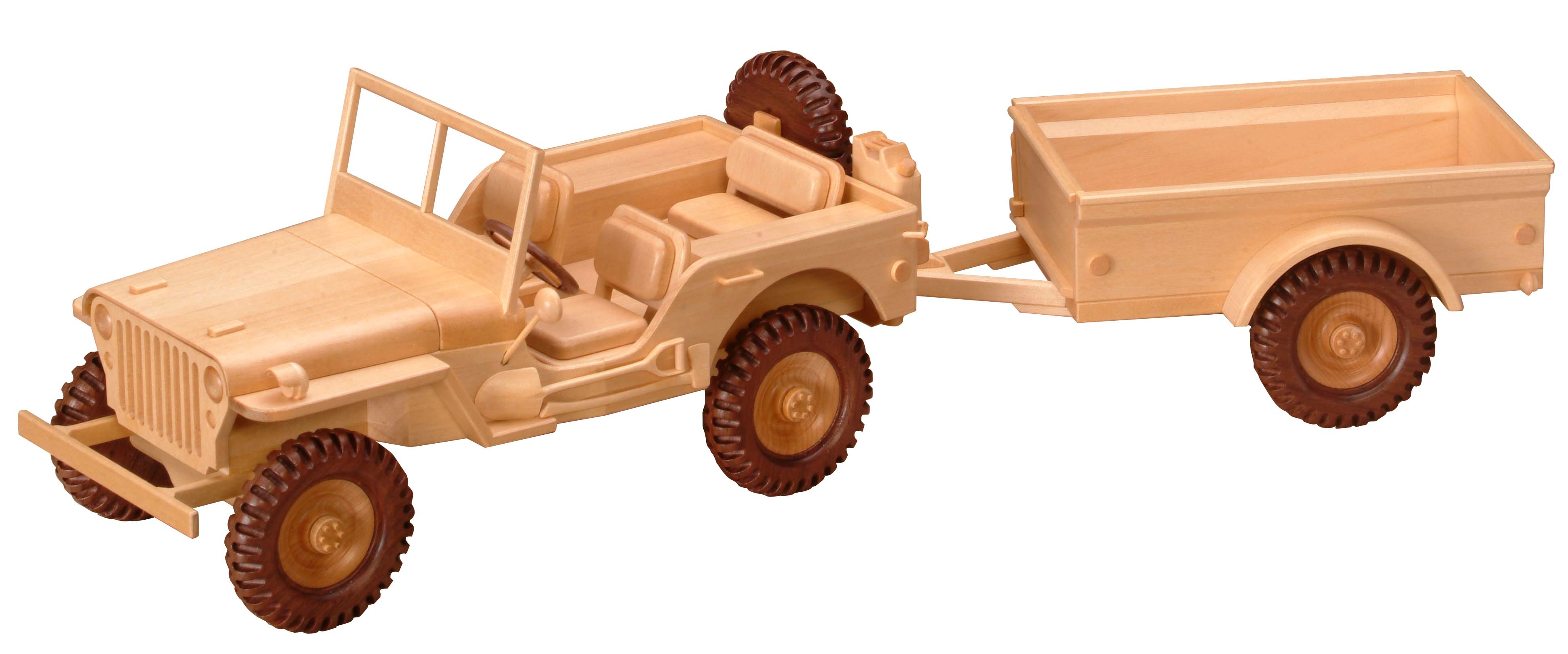 PATTERNS & KITS :: Miscellaneous :: 98 - WW II Military Jeep & Trailer ...