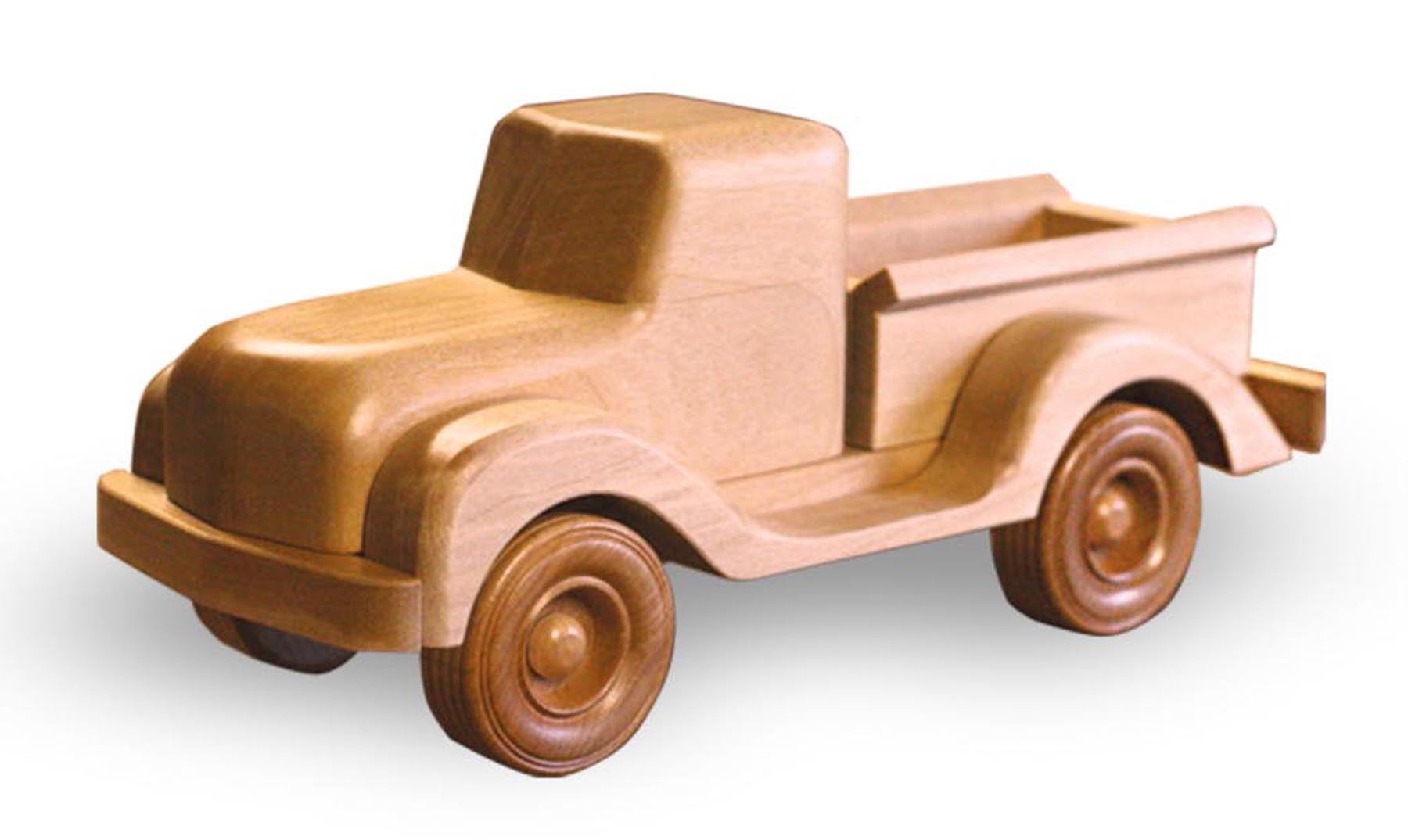 Wooden Trucks Toys And Joys : Patterns kits children s toys lp quot cole trucks