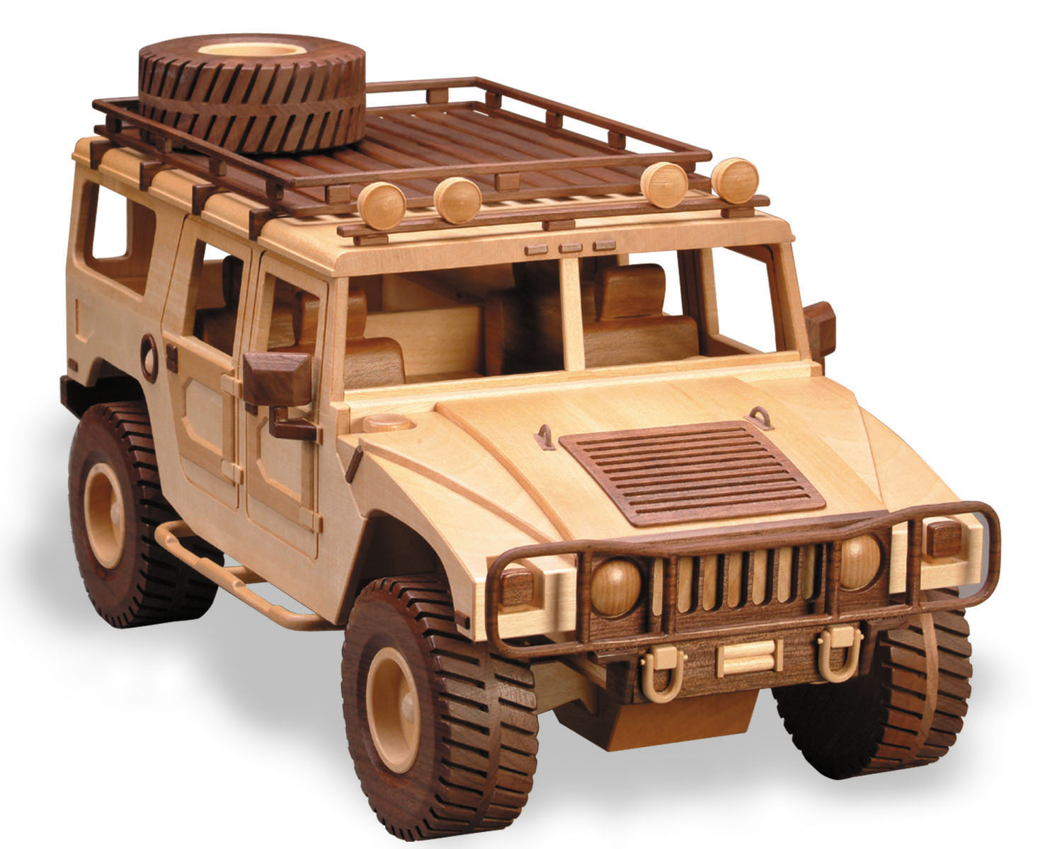 Wooden Trucks Toys And Joys : Patterns kits trucks the hummer
