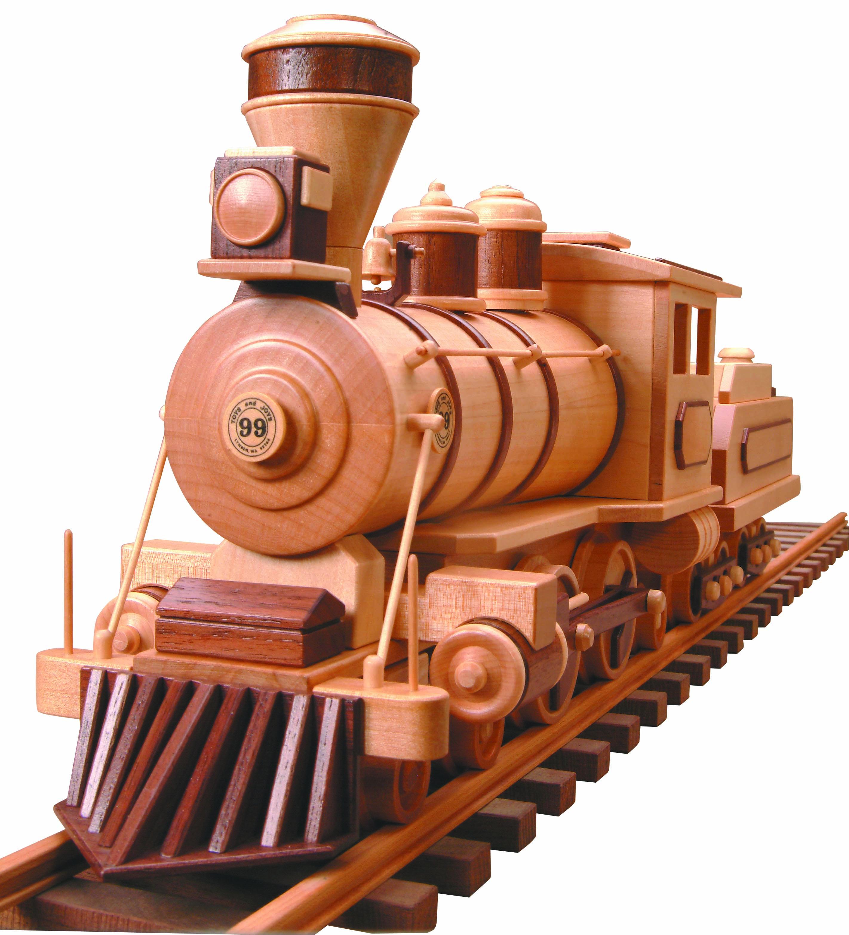 Patterns Kits Trains 99 Locomotive Tender Wood Burner