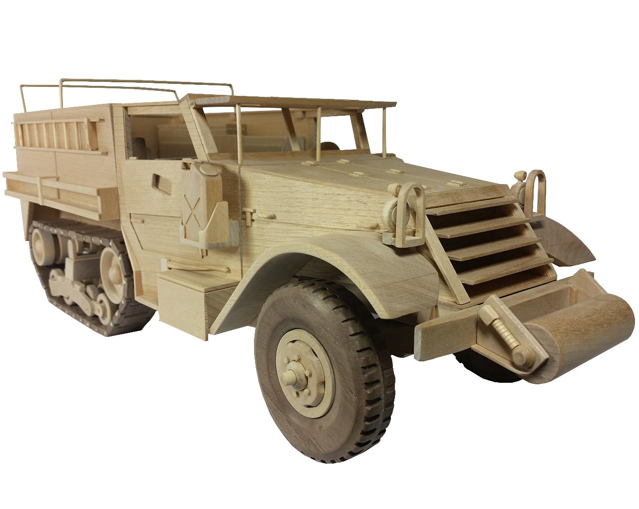 PATTERNS & KITS :: Military :: 129 - WW II Half Track